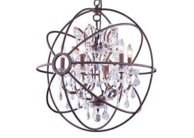 Metro Orb 25″ Chandelier Installation Instructions and Video