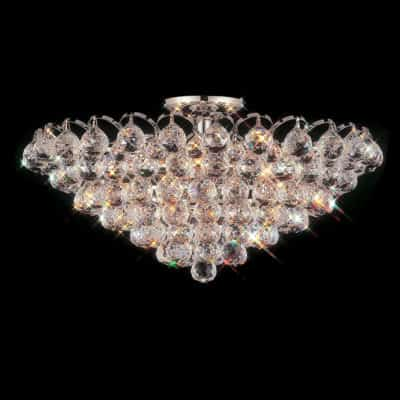 Abelia 22 Inch Flush Mount With Heirloom Grandcut Crystals 2300 21f