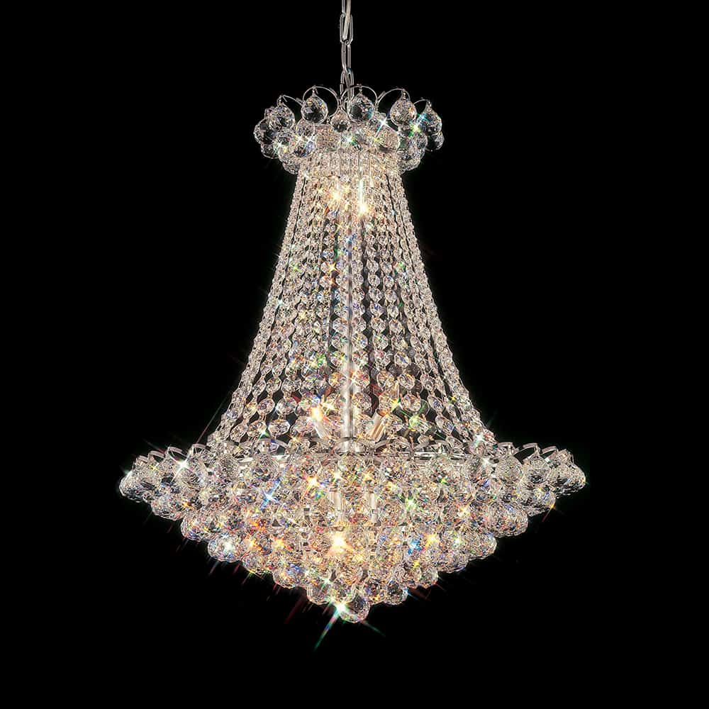 Abelia 27 inch hanging chandelier with heirloom grandcut crystals abelia 27 inch hanging chandelier with heirloom grandcut crystals 2300 27e aloadofball Image collections